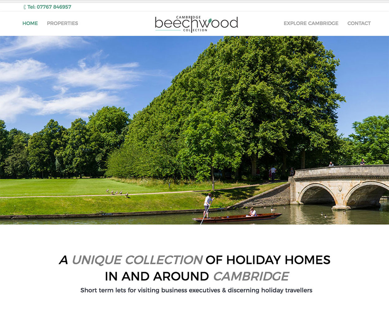 Beechwood Collection Website