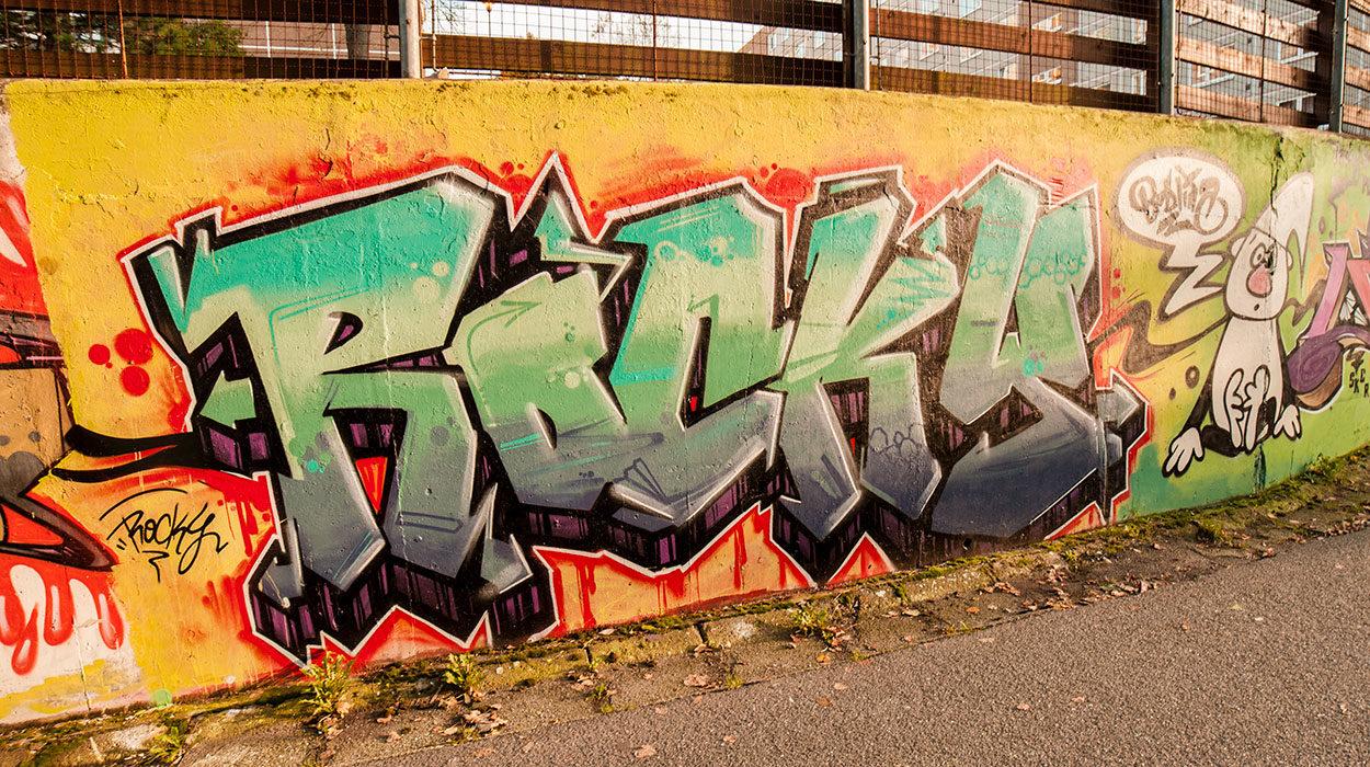 Bida graffiti 2017 Rocky