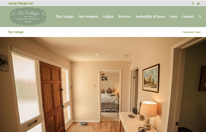 Cottage Needingworth Website