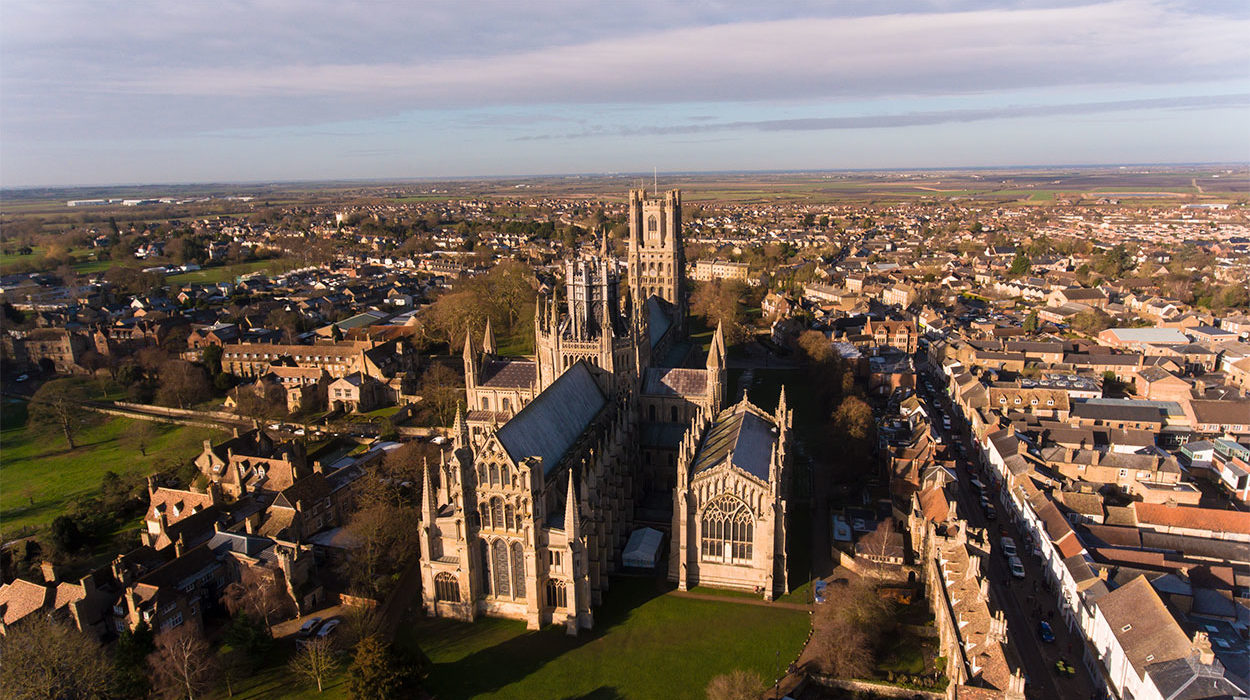 Ely Cathedral Aerial Photography 3