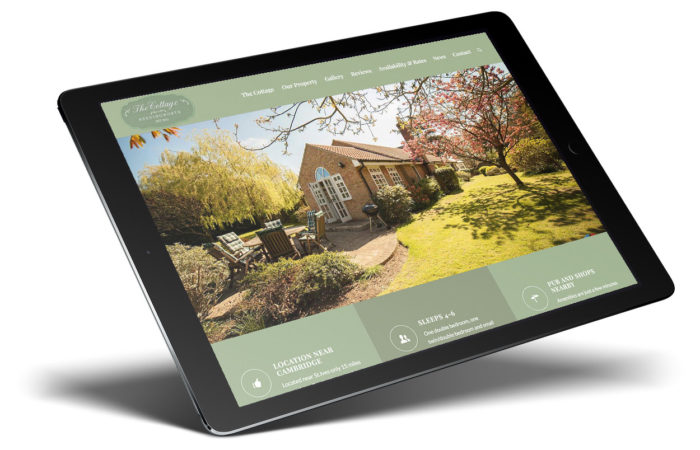 Cottage Needingworth - iPad