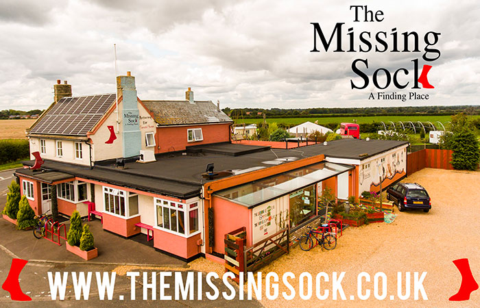 The Missing Sock Aerial Photography