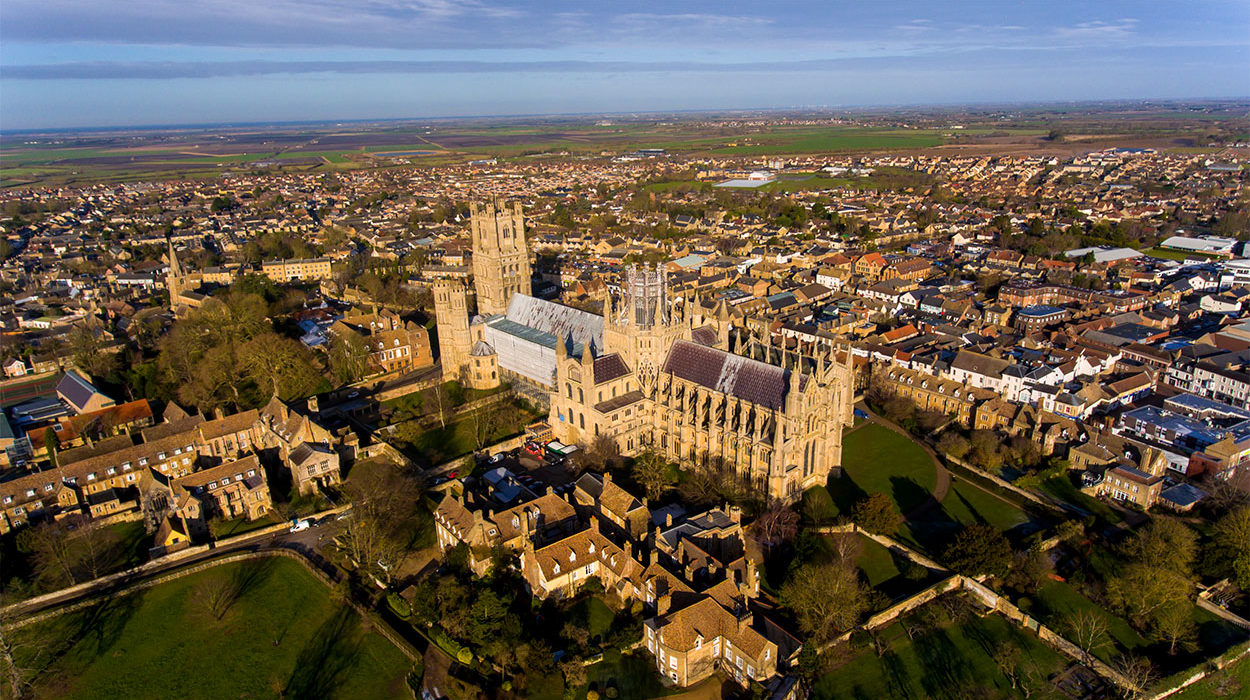 Ely Cathedral Aerial Photography