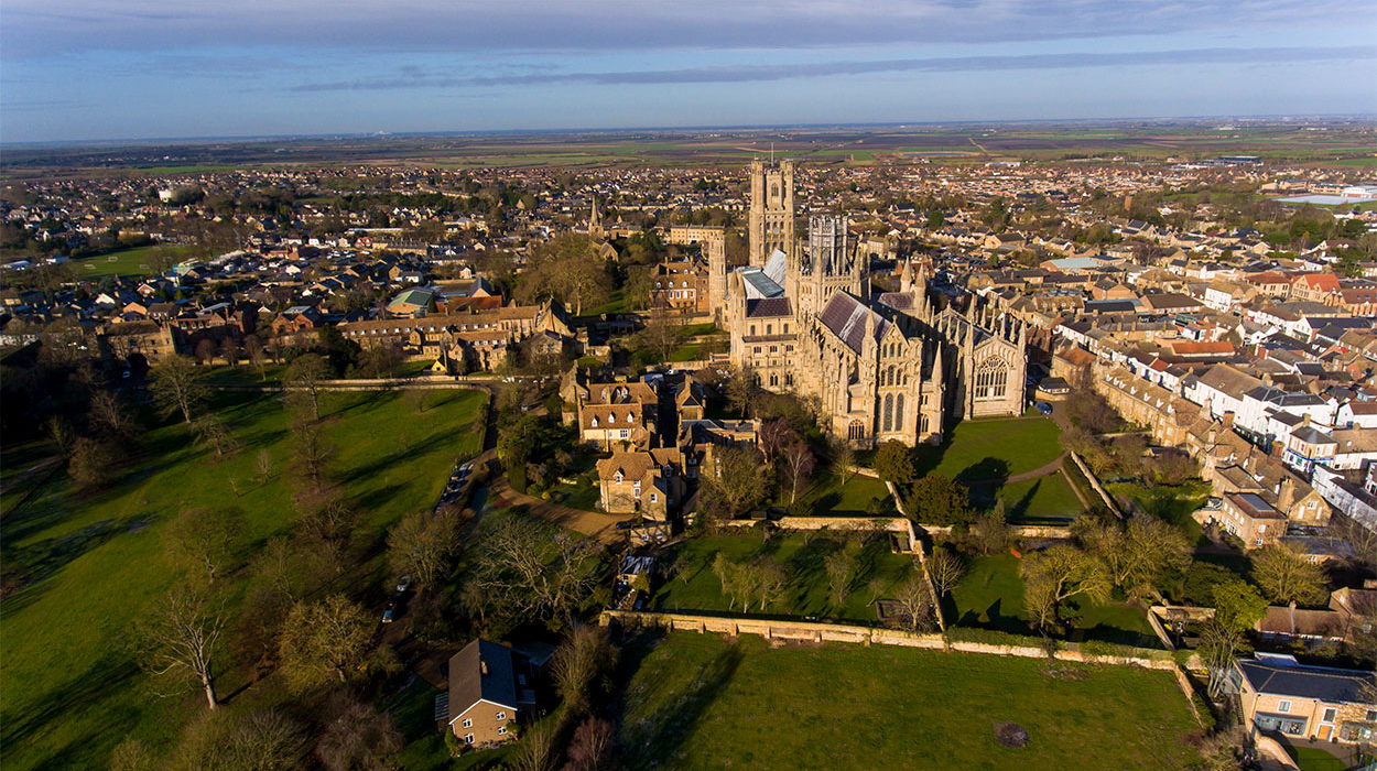 Ely Cathedral Aerial Photography 2