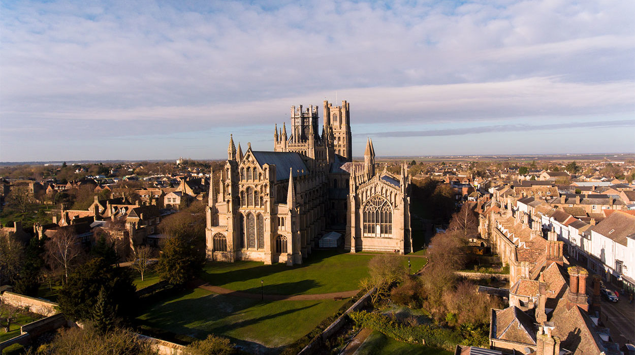Ely Cathedral Aerial Photography 4