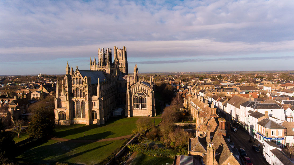 Ely Cathedral Aerial Photography 5