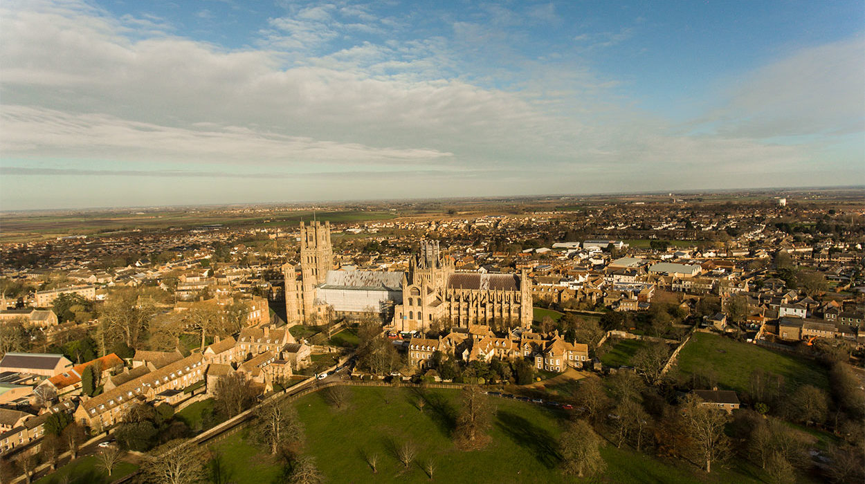 Ely Cathedral Aerial Photography 7
