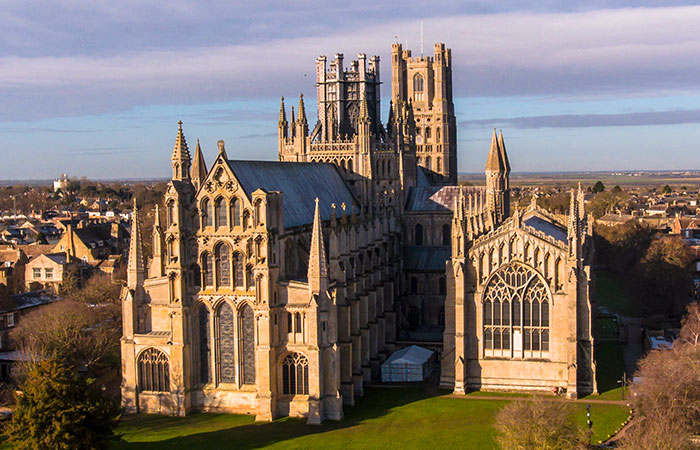 Ely Cathedral Aerial Video