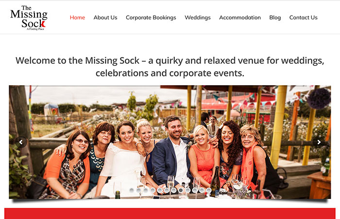The Missing Sock Website